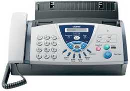 Photo: Sells Fax BROTHER - BROTHER FAX T106 CONTESTADOR