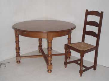 Photo: Sells Furniture TABLE + CHAISES