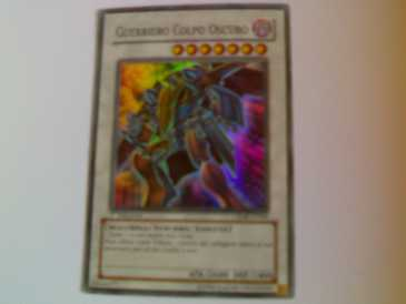 Photo: Sells Yu-Gi-Oh GUERRIERO COLPO OSCURO
