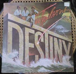 Photo: Sells Vinyl album 33 rpm Jazz, soul, funk, disco - DESTINY - THE JACKSONS