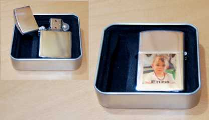 Photo: Sells Lighters BRIQUET ESSENCE PERSONNALISE AVEC VOTRE PHOTO