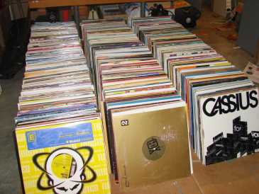 Advisto cd tapes and vinyl records for sale by owner france - Collection disque vinyl ...