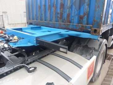 Photo: Sells Caravan and trailer LECYTRAILER - PORTACONTENEDORES