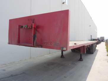 Photo: Sells Caravan and trailer INTA - EIMAR - PORTABOBINAS - PORTACONTAINERS