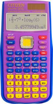 Photo: Sells Calculators CITIZEN - CALC. SCIENTIFIQUE CITIZEN SR-270X LOL BL COLLECTO