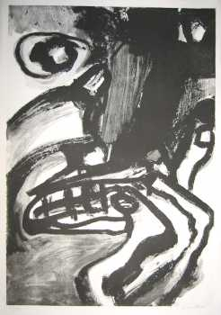 Photo: Sells Lithograph BENGT LINDSTROM - LITHOGRAPHIE ORIGINALE SIGNEE - XXth century