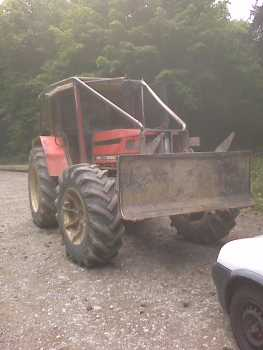 Photo: Sells Agricultural vehicle SAME - LAZER