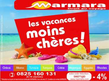 Photo: Gives for free Ticket and voucher CODE DE REDUCTION VOYAGE - MEDITERRANEE