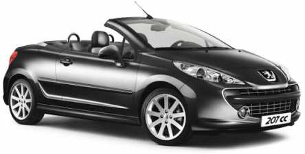 see an ad sells convertible peugeot 207 cc 1 6 hdi. Black Bedroom Furniture Sets. Home Design Ideas