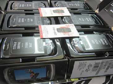 Photo: Sells Cell phone BLACK BERRY - 9800