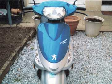 Photo: Sells Scooter 50 cc - PEUGEOT