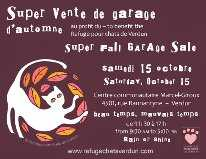 Photo: Proposes Garage sale / yard sale BAZAR DU REFUGE POUR CHATS DE VERDUN - CENTRE MARCEL-GIROUX A VERDUN