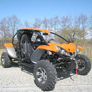 Photo: Sells Mopeds, minibike 500 cc - RENLI - BUGGY 500CC LUCK 4X4 CEE MATRICULABLE !