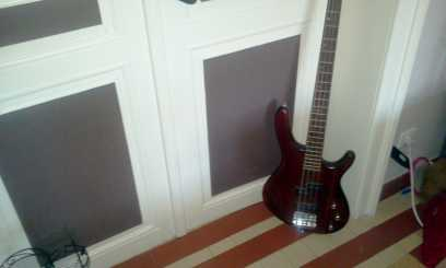Photo: Sells Bass (bull) fiddle GUITARE + AMPLI