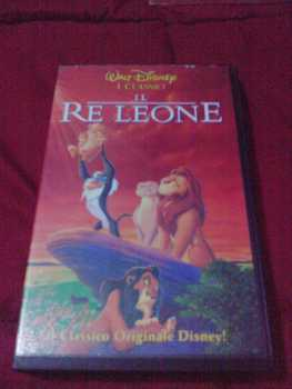 Photo: Sells VHS Animation - Animated drawings - IL RE LEONE - ROGER ALLERS, ROB MINKOFF