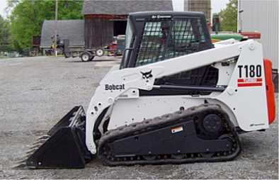Photo: Sells Agricultural vehicle BOBCAT - T180