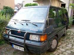 Photo: Sells Camping car / minibus MITSUBISHI L300 GLX KAT - L300 GLX KAT
