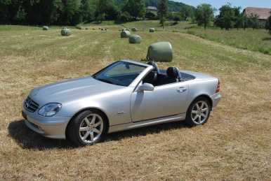 Photo: Sells Convertible MERCEDES - SLK