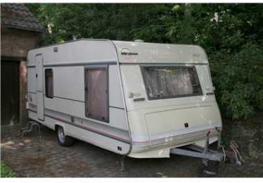 Photo: Sells Caravan and trailer BÜRSTNER - SCALA