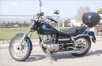 Photo: Sells Motorbike 250 cc - HONDA - CMX REBEL