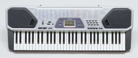 Photo: Sells Piano and synthetizer CASIO CTK 481 - CASIO CTK 481