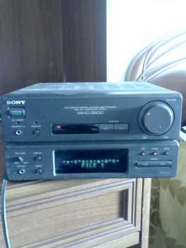 Photo: Sells Amplifier SONY - MHC-3600