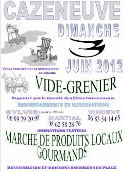 Photo: Proposes Garage sale / yard sale VIDE GRENIER - CAZENEUVE