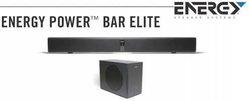 Photo: Sells Loudspeaker ENERGY - ENERGY POWER BAR ELITE SOUNDBAR