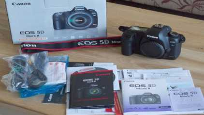 Photo: Sells Camera CANON - 5D MARK II