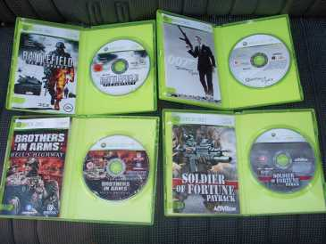 Photo: Sells Video games MICROSOFT - XBOX 360
