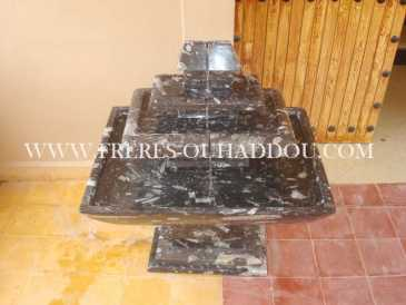 Photo: Sells Decoration FOSSILIZED STONE FOUNTAIN - FOSSILIZED MARBLE FOUNTAIN