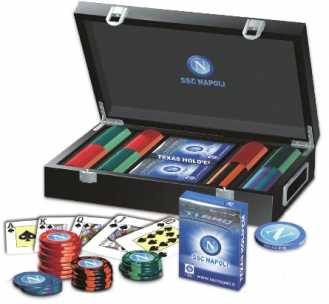 Photo: Sells Playing card SET POKER SSC NAPOLI