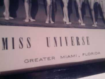 Photo: Sells Photo / poster MISS UNIVERSE 1963 - Cinema