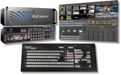 Photo: Sells DVD players / VHS recorders NEWTEK - TRICASTER 450 EXTREME