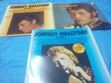 Photo: Sells 53 Vinyls 45 rpm Pop, rock, folk - COLLECTION JOHNNY HALLYDAY - JOHNNY HALLYDAY