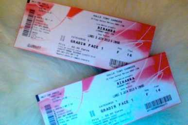 Photo: Sells Concert tickets CONCERT - FRANCE