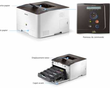 Photo: Sells Printer SAMSUG - SAMSUNG LASER COULEUR CLP-415N