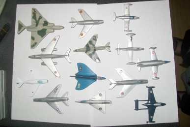 Photo: Sells Collection objects 13 MODELES REDUITS D'AVIONS DE MARQUE SOLIDO - SOLIDO