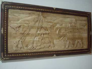 Photo: Sells High-relief Wood - Contemporary