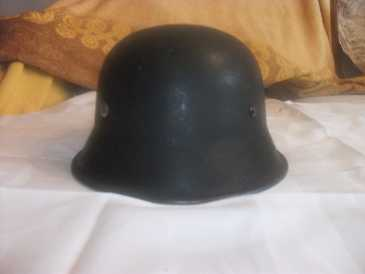 Photo: Sells Uniform STAHLHELM - Between 1939 and 1945