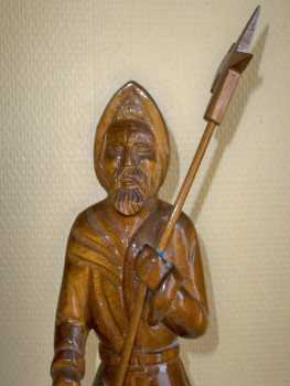 Photo: Sells Statue Wood - Contemporary