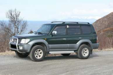 Photo: Sells FWD car TOYOTA - Land Cruiser