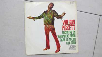 Photo: Sells Vinyl 45 rpm Pop, rock, folk - WILSON PICKETT