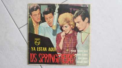 Photo: Sells Vinyl 45 rpm Pop, rock, folk - LOS SPRINGFIELDS