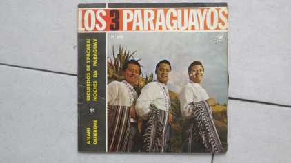Photo: Sells 2 Vinyls 45 rpm International music - LOS  TRES PARAGUAYOS