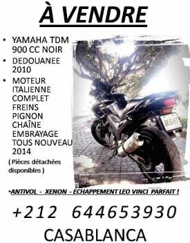 Photo: Sells Motorbike 900 cc - YAMAHA - TDM