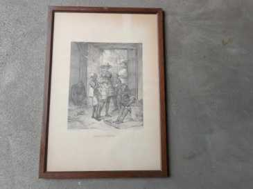 Photo: Sells Lithograph NEGROS NOVOS - XVIIIth century
