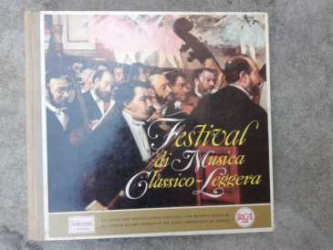 Photo: Sells Vinyl album 33 rpm Classical, lyric, opera - FESTIVAL DI MUSICA CLASSICO LEGGERA