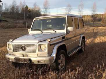 Photo: Sells FWD car MERCEDES - Classe G