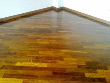 Photo: Sells Do-it-yourself and tool AFRICAN WOOD FLOORING - PARQUET AFRICANO MASSELLO BLACK HYEDUA